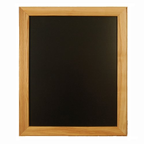 beschriftbare kreidetafel mit holzrahmen holz fichtner. Black Bedroom Furniture Sets. Home Design Ideas