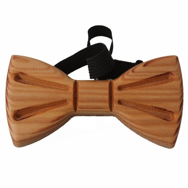 unusual larch wood bow tie