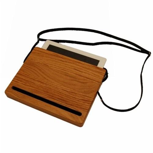 Holztasche IPad2 EIchenholz