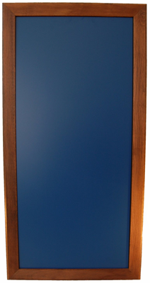 Kreidetafel 98x50cm mit Holzrahmen