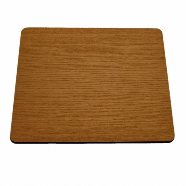 sustainable wood mouse pad ash