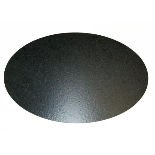 Kunstschiefertablett oval, 66/44cm