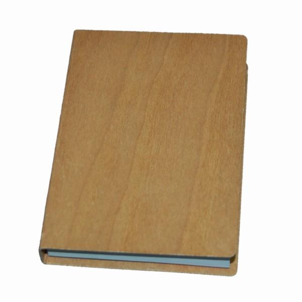 Holznotizblock Kirschholz