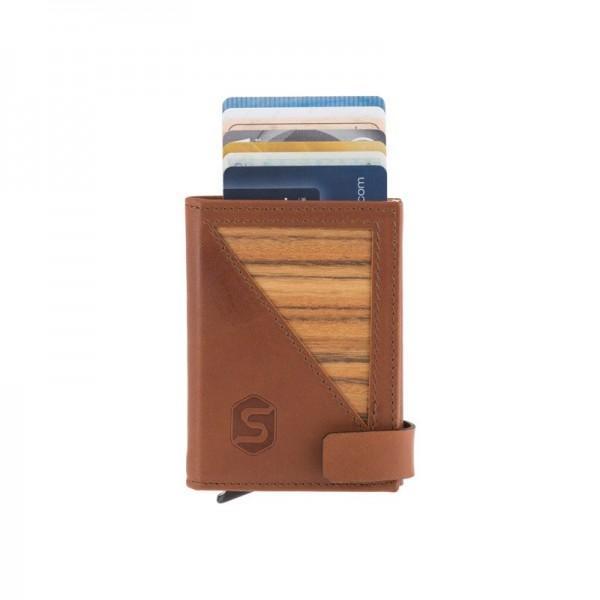 Miniwallet für Karten und Scheine, RFID-Schutz