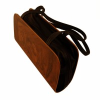 Holz-Fichtner Handtasche, Wurzelholz