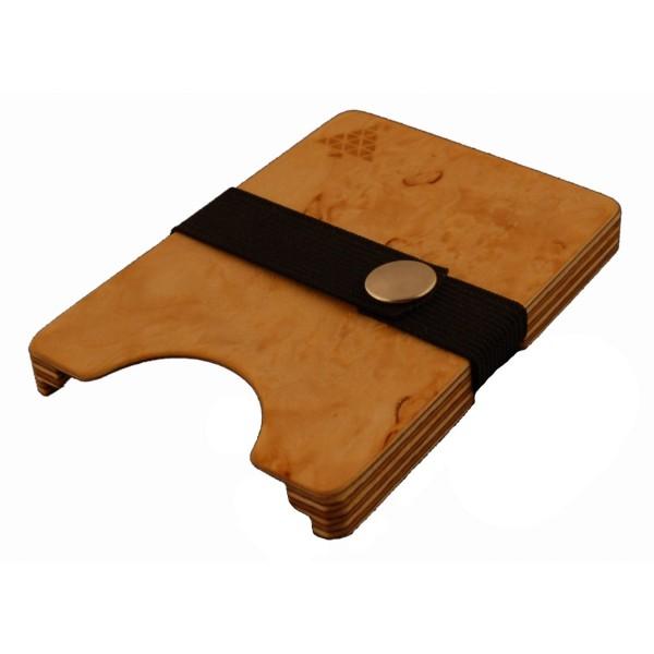 Slim Wallet aus Holz