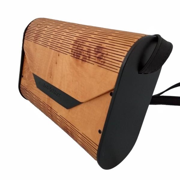Holzhandtasche, Ahornholz
