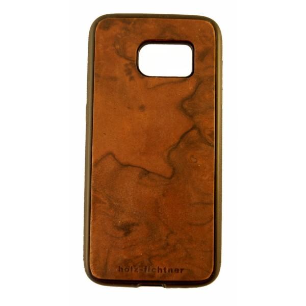 Holzcover Samsung Galaxy S7 Nussbaum