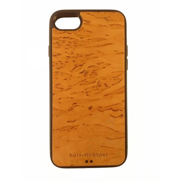 Holzcase IPhone7 nordisches Birkenholz