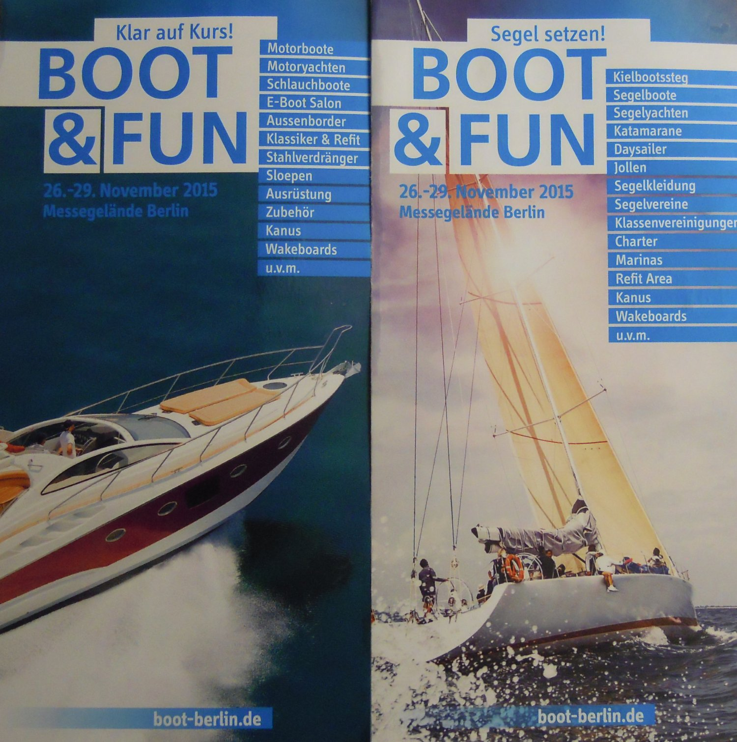 Boot und Fun Berlin Flyer
