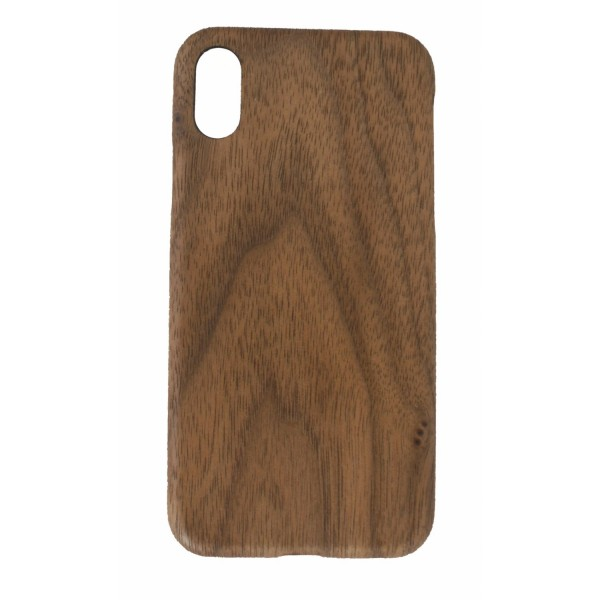 extra thin and featherlight walnut case for Iphone X