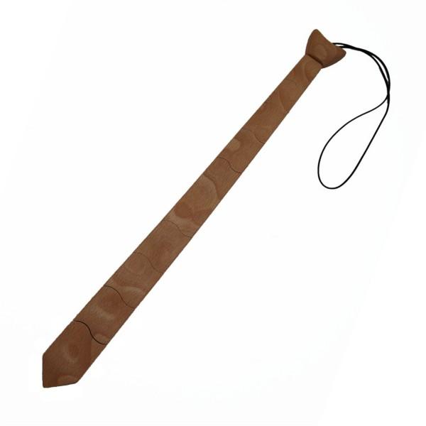 Krawatte aus Buchenholz