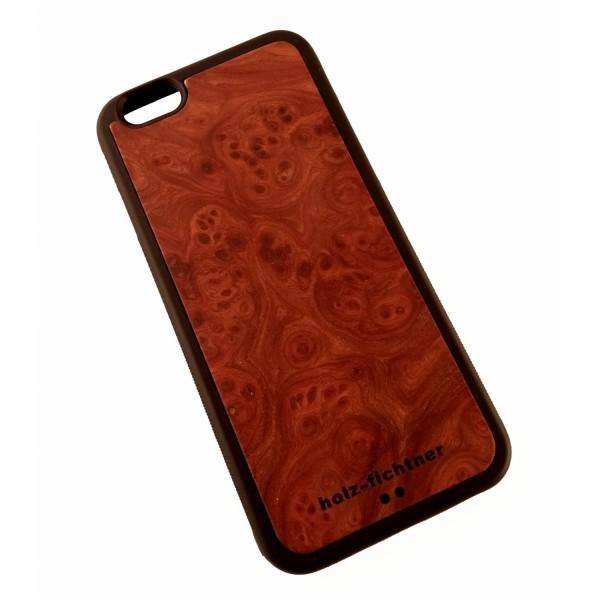 Holzcover für IPhone 6, Rüstermaserholz