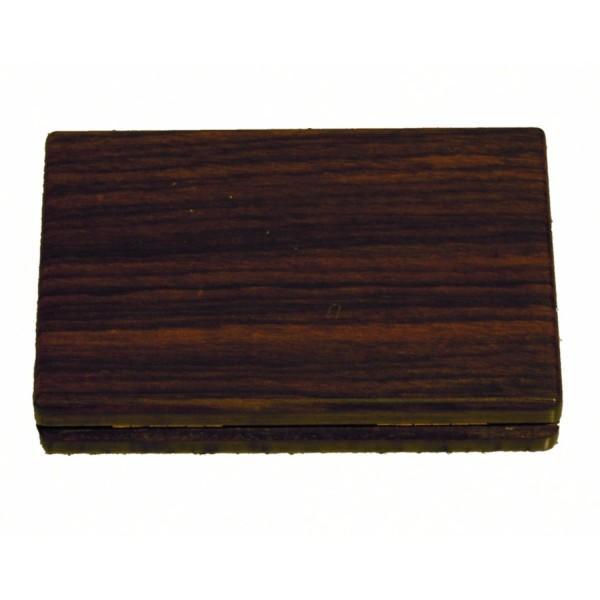 Visitenkartenetui Holz