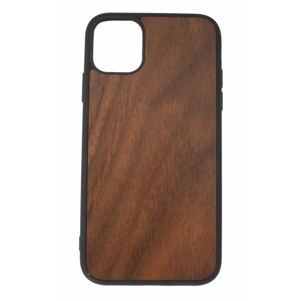 Custodia in legno IPhone11 noce