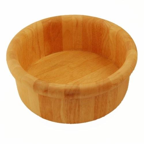 Holzschüssel für Salat