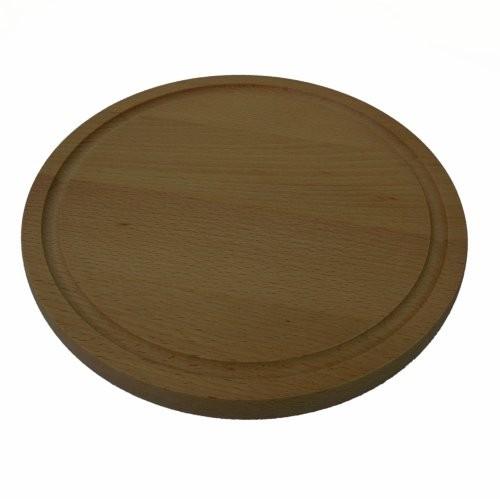 Rundes Schneidbretr aus Holz