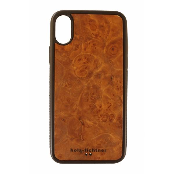 Cubierta protectora de madera de arce IPhoneX