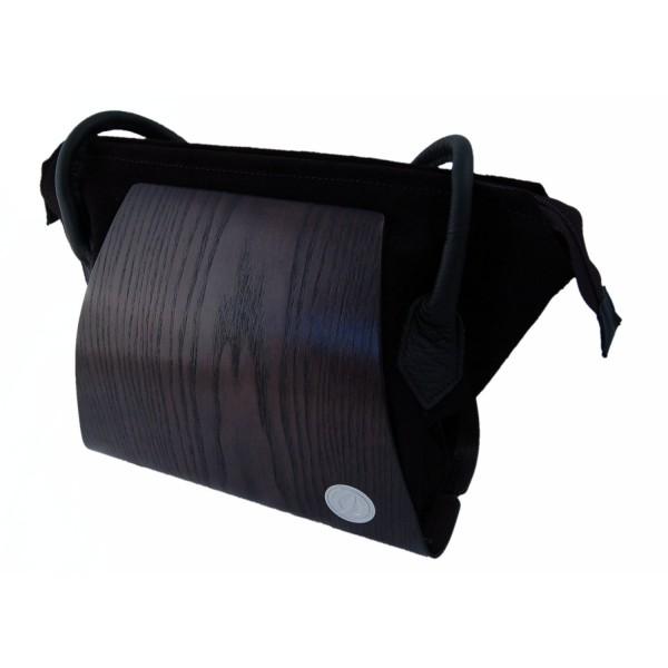 Holzhandtasche aus Eschenholz