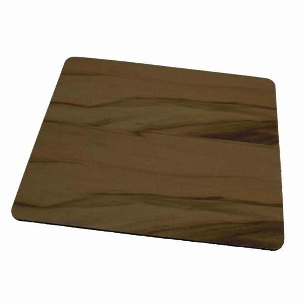 alfombrilla de ratón de madera sostenible nuez satinada