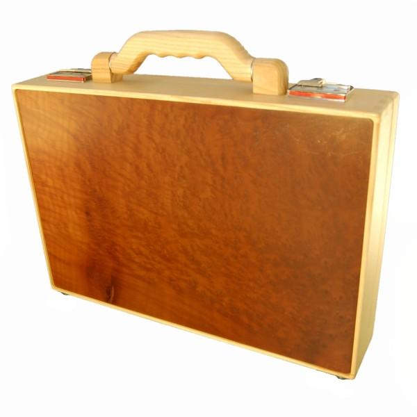 Cartella in legno di vavona