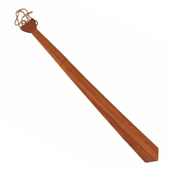 Krawatte aus Holz