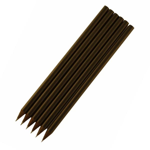 Bleistift schwarz 6er Satz