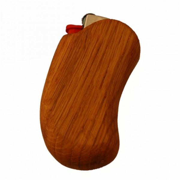 Accendino in legno di quercia rustico