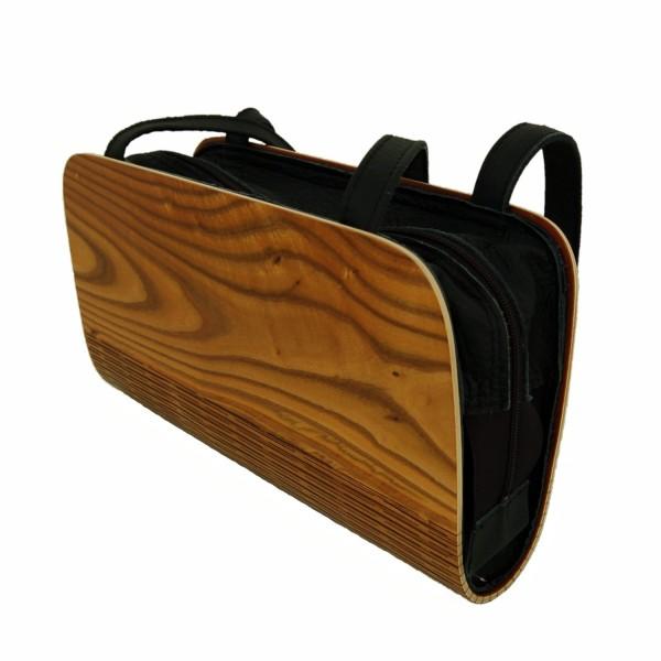 Bolso de señora de madera