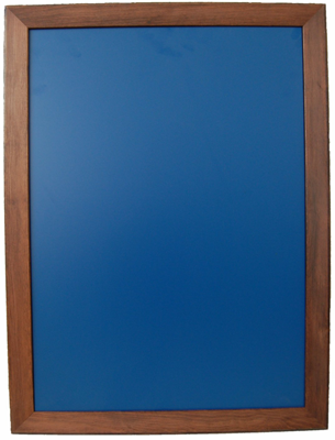 Kreidetafel 80x60cm mit Holzrahmen