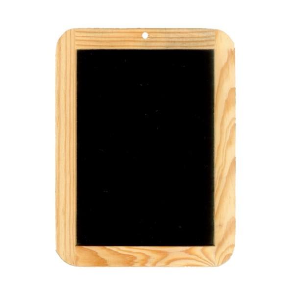 Schulschiefertafel mit Holzrahmen