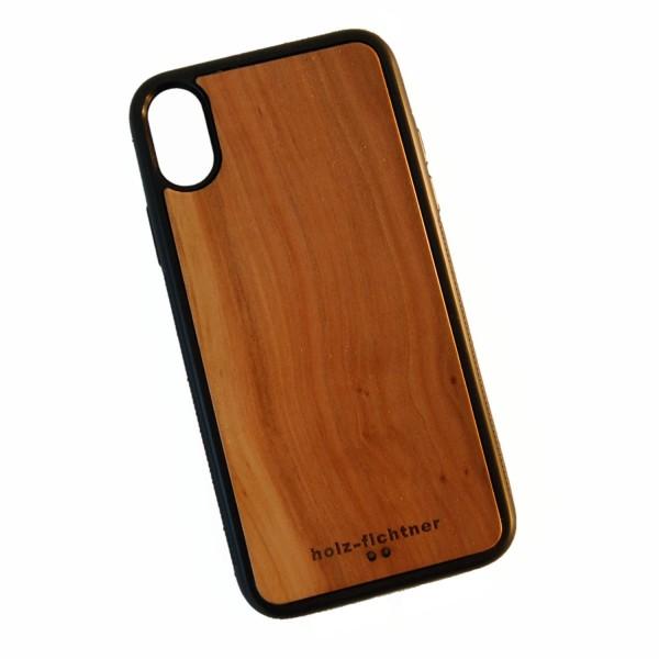 Holzcase IPhoneX Apfelholz