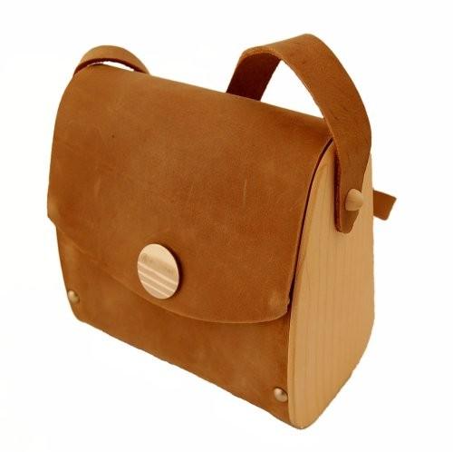 Damenhandtasche aus Holz