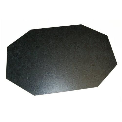 Kunstschiefertablett achteck, 66/44cm