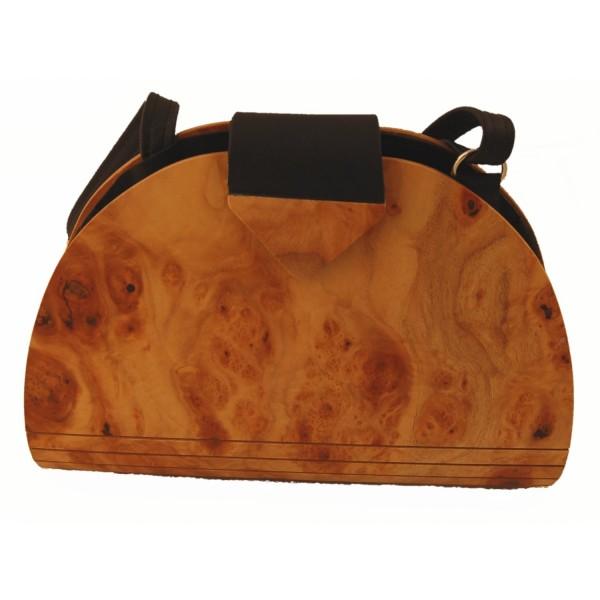 Damenhandtasche, Holz-Fichtner