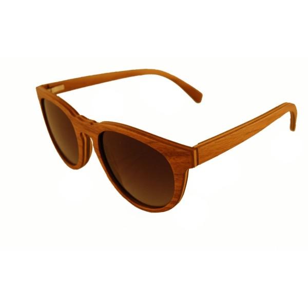 Holzsonnenbrille Nussholz