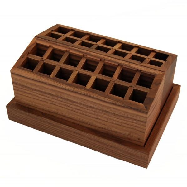 Schreibtischbox Nussbaum