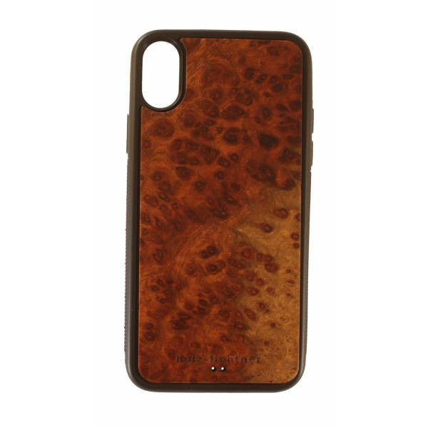 Wood case IPhone X Elm burl wood