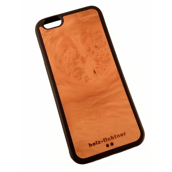 Holzcover für IPhone 6, Ahornmaserholz