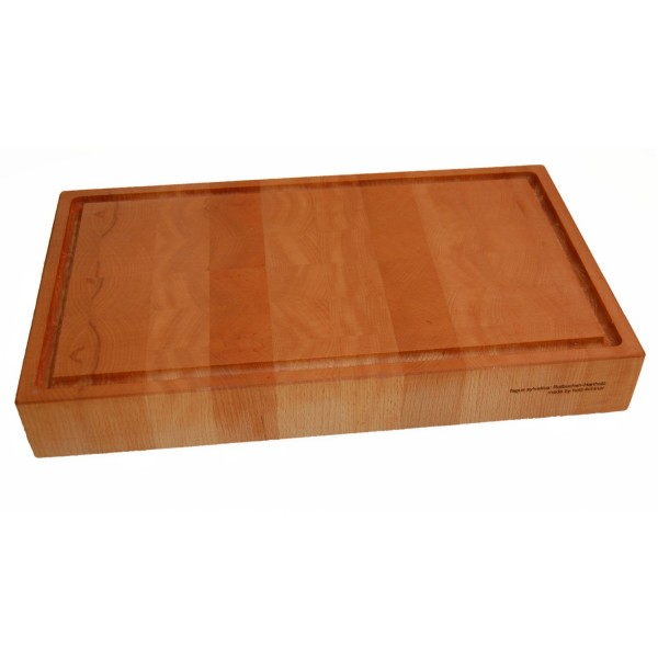Cutting board made of hard beech wood