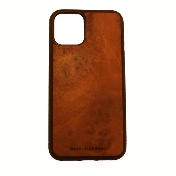 IPhone11 housse en bois de racine de noyer