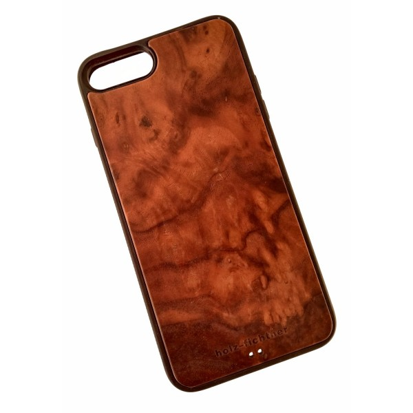 Holzcase IPhone7+ Nussholz