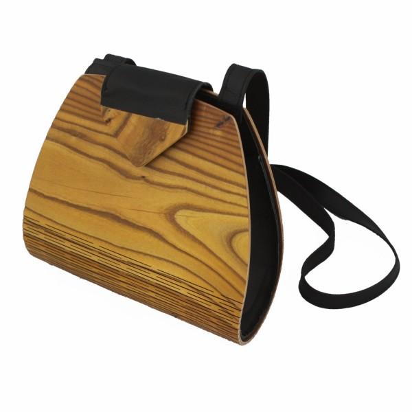 Bolso de señora de madera de zumaque
