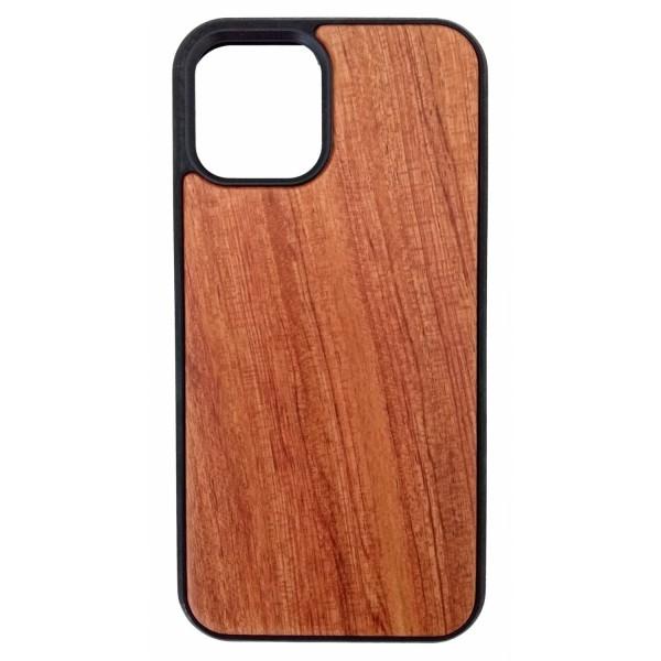 Housse de protection en bois et en plastique pour Iphone 12 et 12Pro