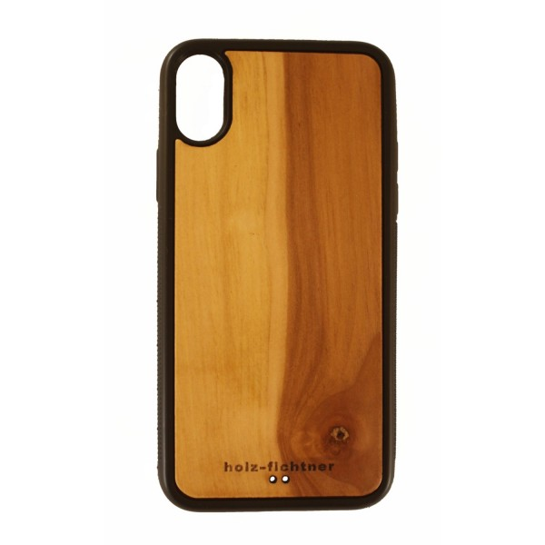 Wood case IPhoneX Applewood
