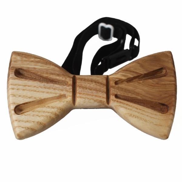 elegant ash wood bow tie