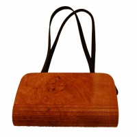 Holz-Fichtner Handtasche aus Holz