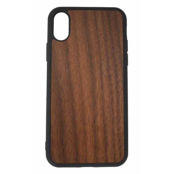 Wooden case IPhoneX walnut