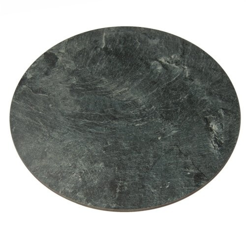 40cm rotating plate made of artificial slate