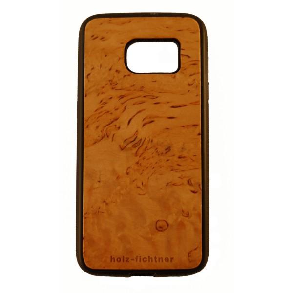 Holzcover Samsung Galaxy S7 nordische Birke